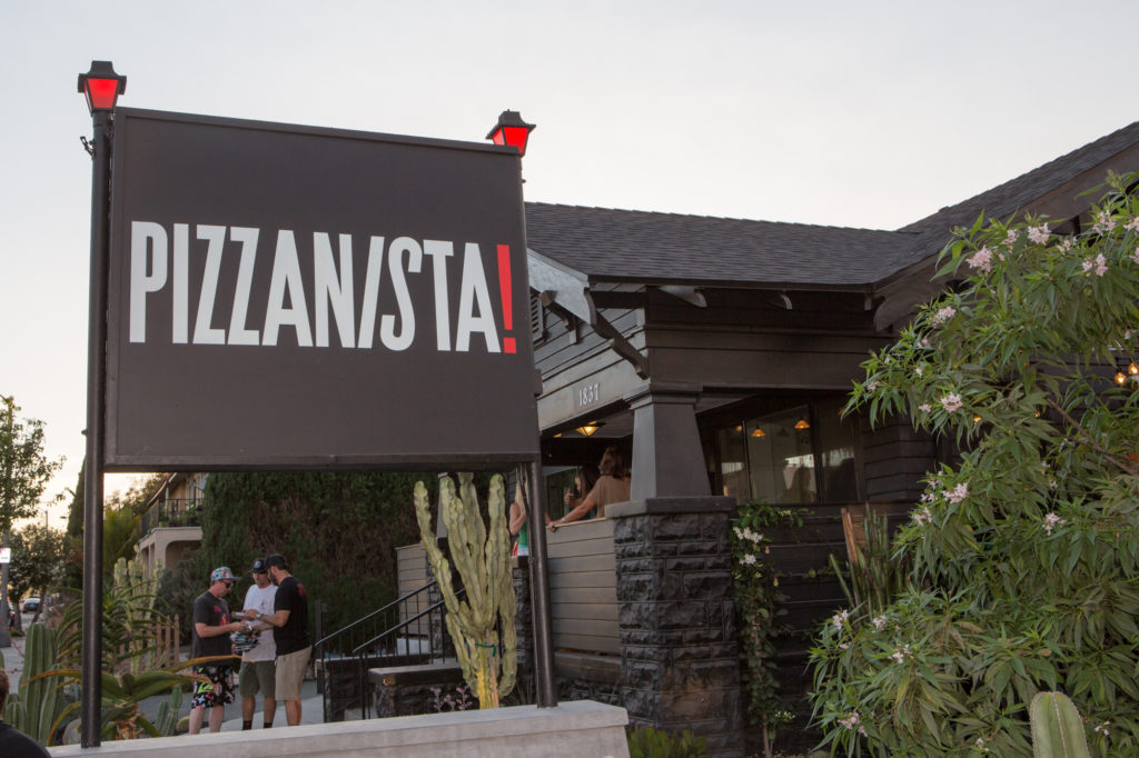 Long Beach Pizzanista venue located off E 7th Street and Gardenia Ave. A must stop place for all pie lovers. Photo: Crosland