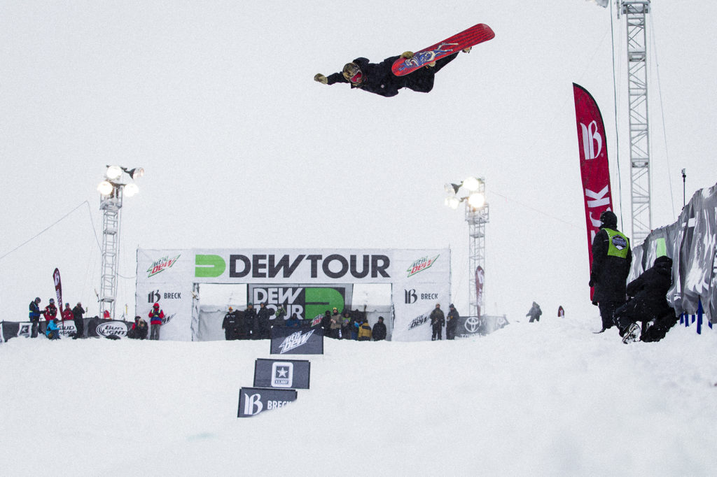 Danny Davis is know for out-of-the-box runs in traditional pipes. What will he bring to Dew Tour's new modified Superpipe? Photo: Brockmeyer