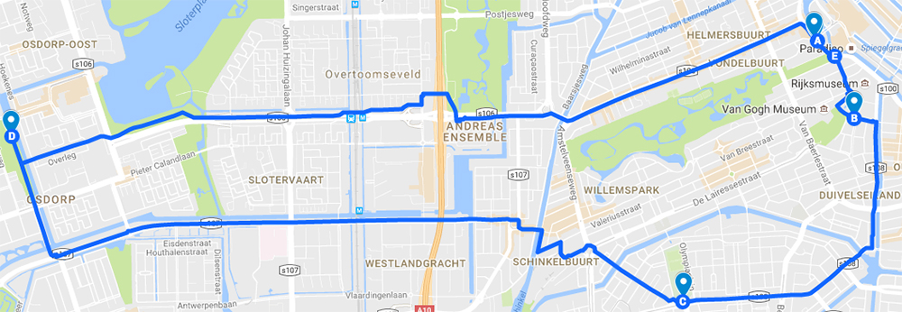bike-route-amsterdam