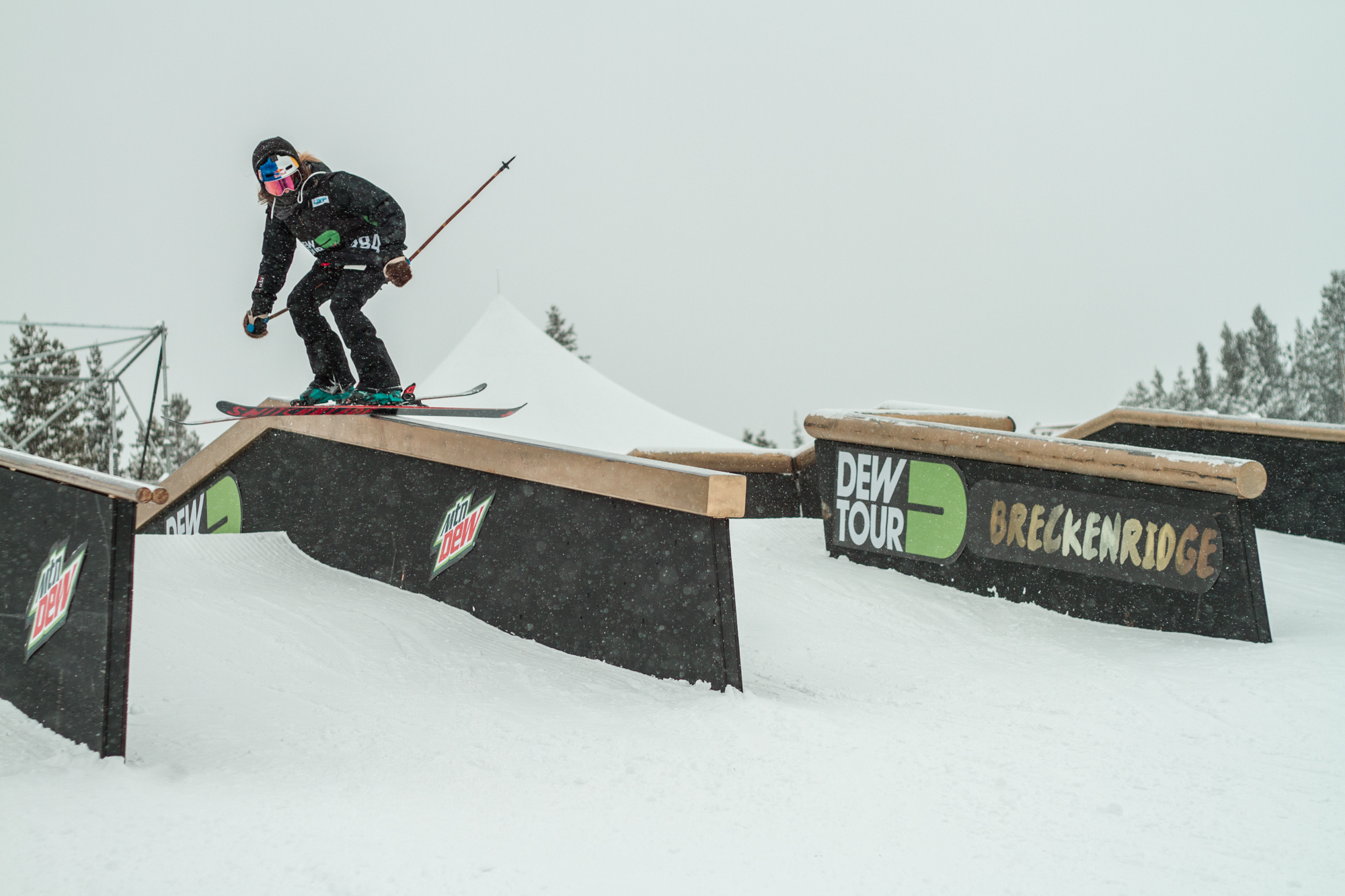 Kaya Turski has seen it all in the world of women's slopestyle skiing, until this year's newly-minted Dew Tour, that is.